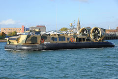 Military hovercraft Stock Images