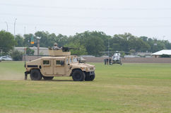Military Humvee display Stock Photography