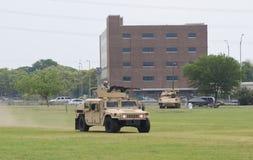 Military Humvee display Royalty Free Stock Image