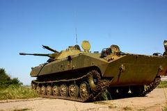 Military infantry fighting vehicle BMP-2 Royalty Free Stock Photography