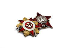 Military insignia. Of a Second World War Stock Images