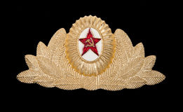 Military insignia of the Soviet Army Stock Photos