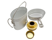 Military issued cooking pot Stock Photos