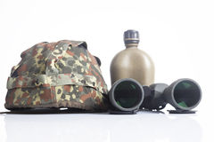 Military items Stock Images