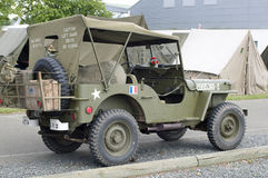 Military jeep Stock Images