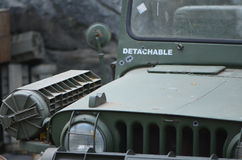 Military Jeep Stock Image