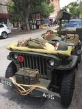 Military Jeep Royalty Free Stock Image