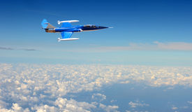 Military jet airplane Royalty Free Stock Photo