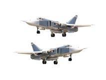 Military jet bomber Royalty Free Stock Photos