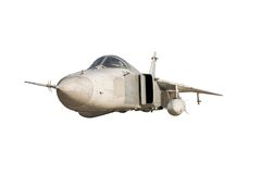 Military jet bomber Su-24 Stock Photography