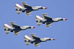 Military jet fighters air show Stock Photos