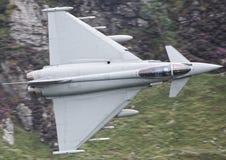 Military jet Typhoon Royalty Free Stock Photo