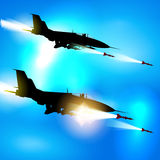 Military jets Royalty Free Stock Images