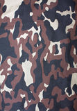 Military khaki camouflage fabric as a background Stock Photography