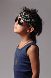 Military kid Royalty Free Stock Images