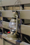 Military lamp oil Stock Images
