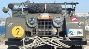 Land Rover Series 1 Royalty Free Stock Images