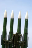 Military launched intermediate-range missiles Royalty Free Stock Images