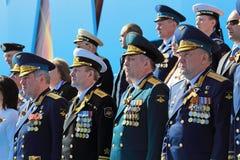 Military leadership Royalty Free Stock Photos