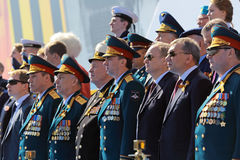 Military leadership Stock Image