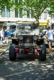Military light utility vehicles Willys MB. BERLIN - JUNE 17, 2017: Military light utility vehicles Willys MB. Classic Days Berlin 2017 Royalty Free Stock Photography