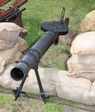 Military Machine Gun. Stock Photo