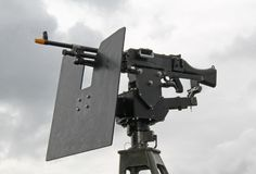 Military Machine Gun. Royalty Free Stock Photography