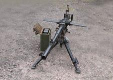 Military Machine Gun. Royalty Free Stock Image