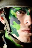Military man Royalty Free Stock Photography