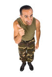 Military man Stock Images