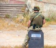 Military man Stock Image