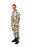 Military Man Royalty Free Stock Photo