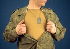 Military man Royalty Free Stock Image