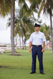 Military man in uniform Royalty Free Stock Photo