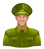 Military man Royalty Free Stock Photos