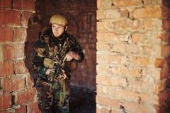 Military man Stock Photos