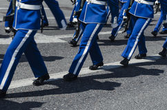 Military march Royalty Free Stock Images