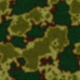 Military mask seamless pattern background - woven fabric - khaki, green and brown colors. Military mask seamless pattern texture background - woven fabric royalty free illustration
