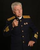 Military mature general Stock Images