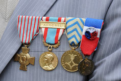 Military medals Royalty Free Stock Image