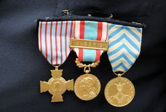 Military medals Stock Photography