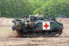 Military medic APC Stock Image
