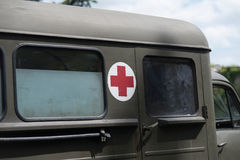 Military medic truck Royalty Free Stock Photo