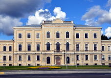 The Military Medical Academy in Saint-Petersburg. The Military Medical Academy;  The building of Military Hospital, St  Petersburg Stock Photography