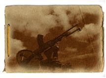 Military Memorial Design Stock Photo