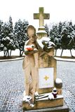 Military memorial Stock Photo