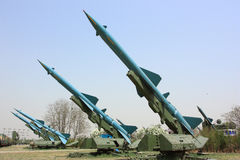 Military missile Royalty Free Stock Photo