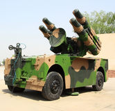 Military missile vehicle Royalty Free Stock Photos