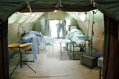 Military mobile hospital Royalty Free Stock Photography