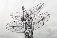 Military mobile radar Royalty Free Stock Images